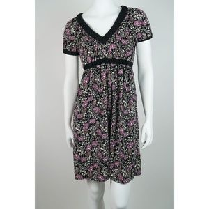 BCBG MAXAZRIA Casual Floral Mini Dress XS S